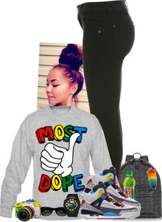 """""""Most Dope."""" by hklover500 ❤ liked on Polyvore"""