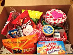 College Care Package – Valentine Style | An Affair from the Heart