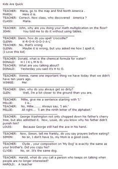 ...I'm probably going to have kids just like one of these kids when I'm older!!! They're  going to be so sarcastic lol