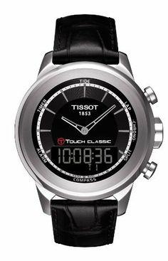 Tissot T-Touch Classic Black Quartz Touch Mens Watch T0834201605100 Tissot. Save 7 Off!. $628.95