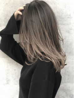Pin on beauty Pin on beauty Blond Ash, Ash Brown Hair Color, Hair Color And Cut, Ombre Hair Color, Brown Hair Balayage, Brown Blonde Hair, Hair Color Balayage, Hair Highlights, Medium Brunette Hair