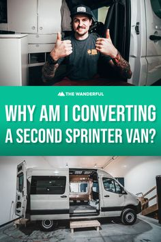 Diy Van Conversions, Sprinter Van Conversion, Toy Hauler, Life Inspiration, Camper Van, Van Life, The Past, Building, Tips