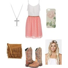 Untitled #16 by veggieranch on Polyvore featuring polyvore, fashion, style, maurices, Justin, Polo Ralph Lauren, David Yurman, With Love From CA and Ted Baker