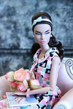Powder Puff Poppy Parker | Gorgeous in She's Arrived Geometr… | Flickr