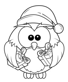 Baykuş boyama sayfası, Owl coloring pages, Página para colorear de búho, Картина сова. Pj Masks Coloring Pages, Cartoon Coloring Pages, Free Printable Coloring Pages, Coloring Pages For Kids, Coloring Books, Colouring, Christmas Owls, Christmas Drawing, Christmas Colors