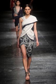 Prabal Gurung Paints It Red For Fall 2014: Prabal Gurung took us on a trip to Mustang for Fall 2014.