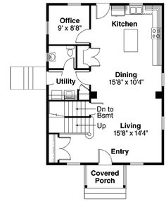 Colonial Saltbox House Plan 94007   Saltbox houses, Bedrooms and House