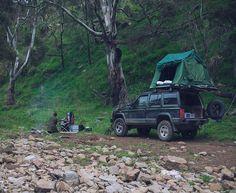 Car top camping via blog Whole Larder Love