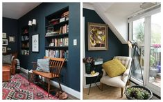 How to Style Dark Walls in the lounge and conservatory
