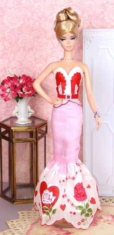 Valentina for Silkstone Barbie by HankieChic on Etsy