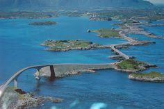 The Atlantic Road in Norway by JarleTondel