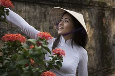 Beautiful Girls Wearing Elegant Ao Dai In Vietnam | Bored Panda