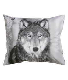 Check this out! Pillowcase in cotton fabric with a printed photographic design. Thread count 144. - Visit hm.com to see more.