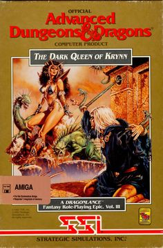 The Dark Queen of Krynn finally delivered an experience on the PC comparable to the Amiga. A great end for a great trilogy.