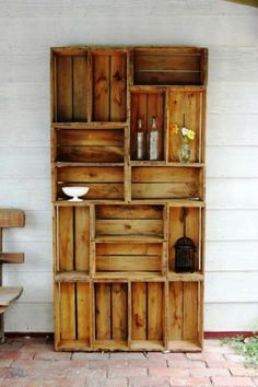 25 Clever DIY Bookshelf Ideas
