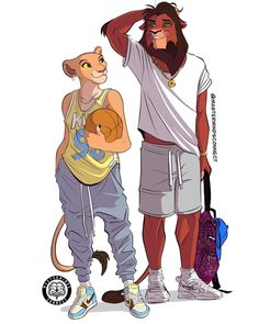 This talented artist and Disney fan transformed The Lion King animals into humanlike characters, and the results are amazing. Kiara Lion King, Kiara And Kovu, Lion King 2, Lion King Movie, Disney Lion King, Art Roi Lion, Le Roi Lion 2, The Lion King Characters, Disney Characters As Humans