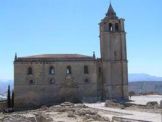 Jaén Iglesia Mayor Abacial de la Fortaleza de la Mota