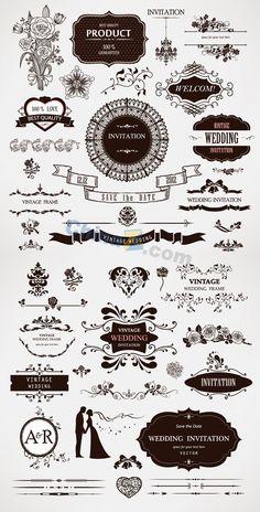 Wedding decor vector vector graphics vector illustrations wulogo1136g 6001181 junglespirit Gallery