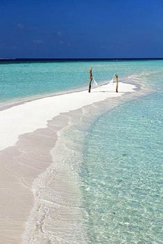 Maldives. I SO want to climb into that hammock...