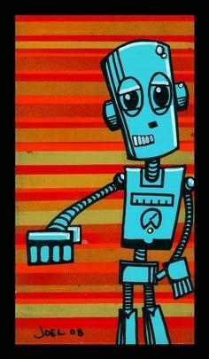Robot #5 | Joel Barber
