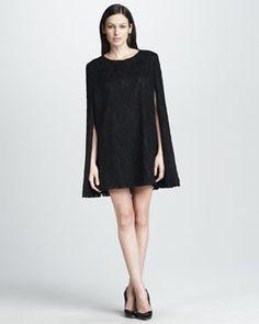 Cape + dress
