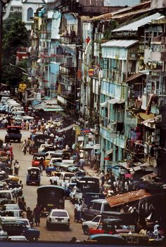 Yangon, Myanmar formerly known as Rangoon, Burma.
