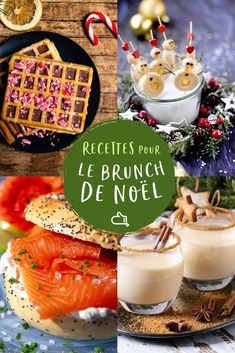Christmas brunch: all the recipes to delight young and old during the holidays - Trend Birthday Cocktail Recipes 2019 Christmas Brunch, Christmas Breakfast, Christmas Morning, Cocktail Recipes, Dinner Recipes, Food Network Recipes, Cooking Recipes, Cooking Channel Shows, Hazelnut Spread