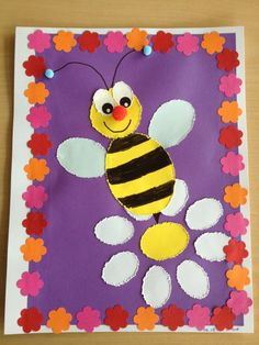 Busy Bees Busy Bees what time is the powerball drawing tonight - Drawing Tips School Art Projects, Projects For Kids, Crafts For Kids, Arts And Crafts, Paper Crafts, Toddler Crafts, Preschool Crafts, Preschool Door Decorations, Insect Crafts