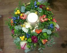 Centro de flores para boda de GADEA FLORES  VIGO