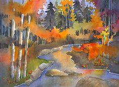Carson River ~ Peter Chope ~ Watercolor