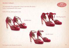 Sapatos 3 em 1 da Pio Acessórios!!