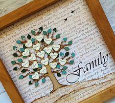 Family Tree, family tree frame, personalised family tree, custom family tree, parent gift, grandparent gift, family name tree, wedding gift