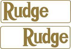 Rudge 6940LC  142x47mm £7.50 each