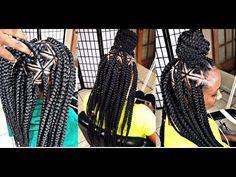 @Braids_by_Twosisters #Inspired Spider Web Braids [Video] - https://blackhairinformation.com/video-gallery/braids_by_twosisters-inspired-spider-web-braids-video/
