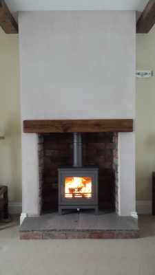 Chesney Shoreditch #stove, with brick chmaber