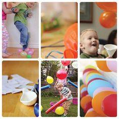 Juegos de cumpleaños con globos Imaginar una fiesta infantilsin juegos de cumpleaños ysin globos es casi imposible. A los peques les encantan y, seamos sinceras, decorar un cump...