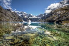 The Clear Water of Lake Erskine Fiordland [OC] [2048x1365] http://ift.tt/1NbuIlL. How to Make your own DIY #Samsung #Galaxy #Case http://ift.tt/1JAekZB