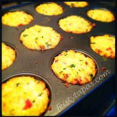 Thermomix Savoury Quinoa Muffins