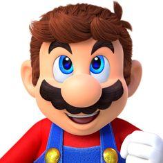 Mario without his mustache. Mario Und Luigi, Mario Bros., Mario Kart, Sega Genesis, Wii U, Xbox One, Nintendo Decor, Mother 3, Playstation