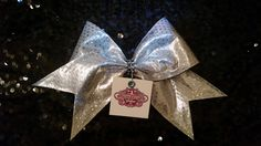 Cheer Bow - Shimmer Collerction by CheerCandyBoutique on Etsy