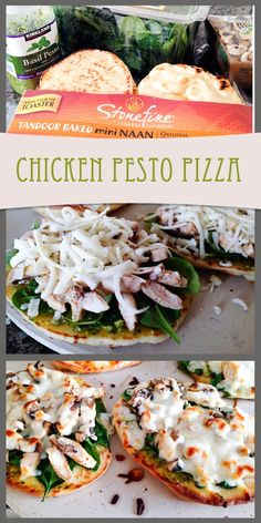 Chicken Pesto Pizza--this is ridiculously good. And even better, it's easy!!
