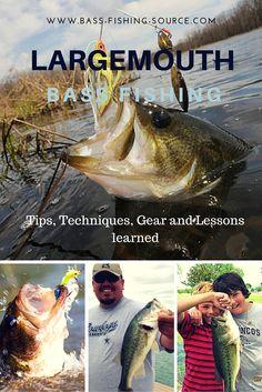 Largemouth Bass Fishing Tips and Tactics