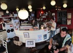 Memphis Belle Coffee House in Wellington, New Zealand. Run by a dedicated team of attractive coffee nerds.