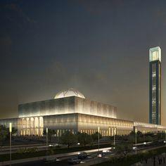 Coming soon!    KSP Jürgen Engel Architekten won a competition to design the Mosquée d'Algérie