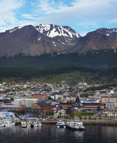 Ushuaia, Tierra del Fuego, Argentina. Saw it on Destination Truth & would love to visit.