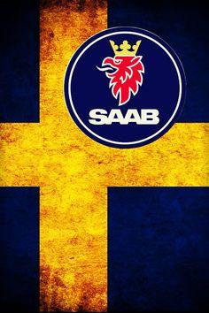 Saab flag