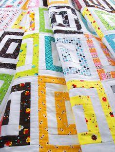 Fussy Cut: finished - flea market fancy quilt