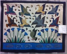Walks in the Woods - Art Quilts: The Egyptian Tent Makers