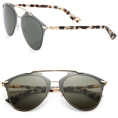 d2a488351528 Dior Reflected Modified Pantos Sunglasses Tortoise   Buy replica watches