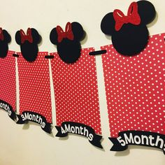 Minnie mouse photo banner by Fancymycupcake on Etsy